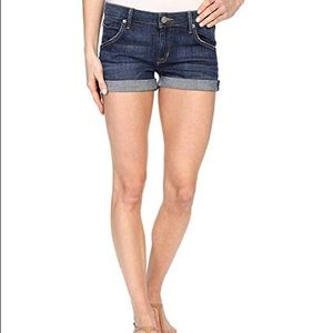 Hudson Jeans Shorts - Hudson Hampton cuffed jean shorts